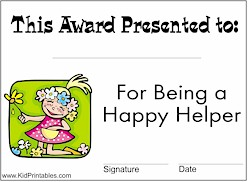 printable awards for students