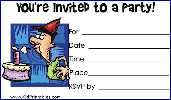 Kid Birthday Invitations for adorable invitation example