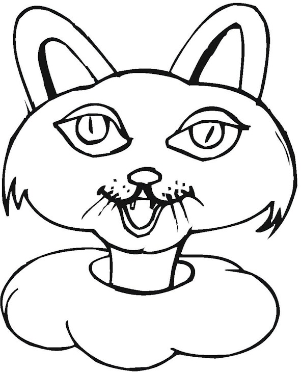 Princess Cat Coloring Page Princess Cat Coloring Pages Free Coloring Sheets