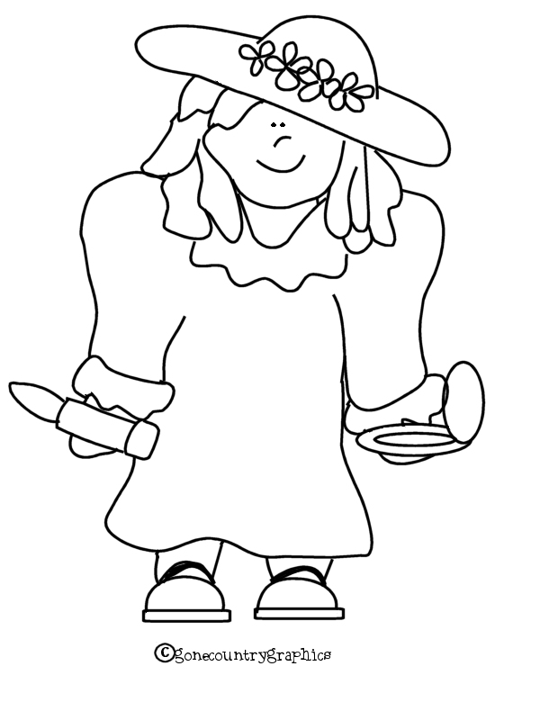 Free coloring pages of dress up for Country girl coloring pages