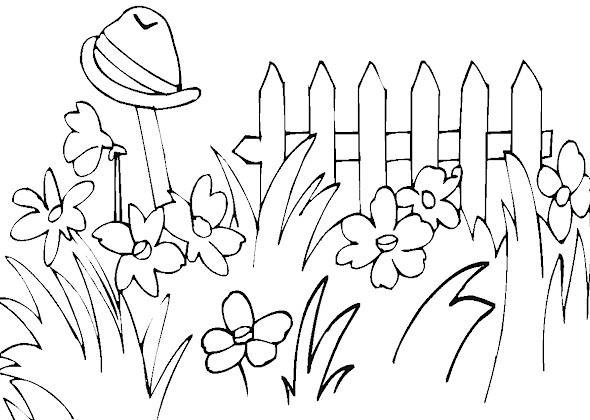 Home / Coloring Pages / Spring / Garden /