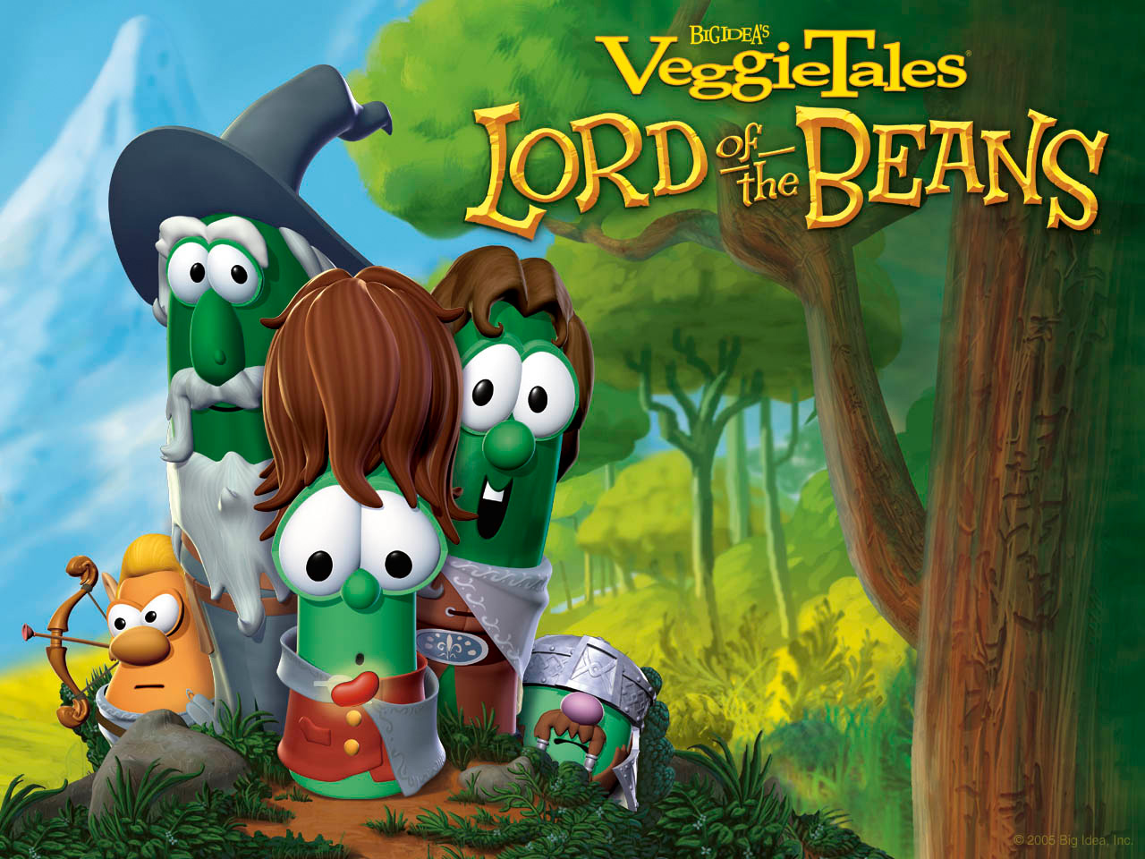 VeggieTales Coloring Page - Free Print and Color Pages