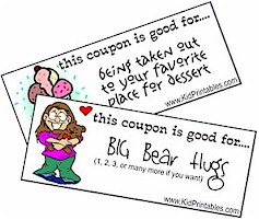 kid printables free printable coupons for kids - Kid Free Books