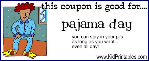 Stay in Pajamas Coupon