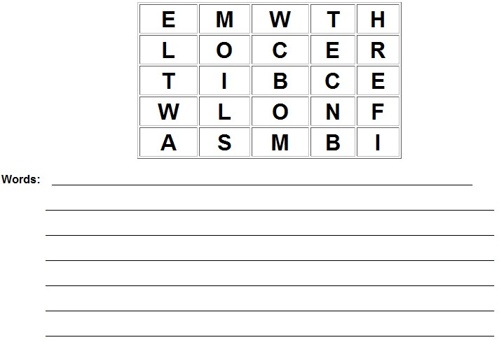 Book Bingo Worksheet Along With Along With | Free Download Printable ...