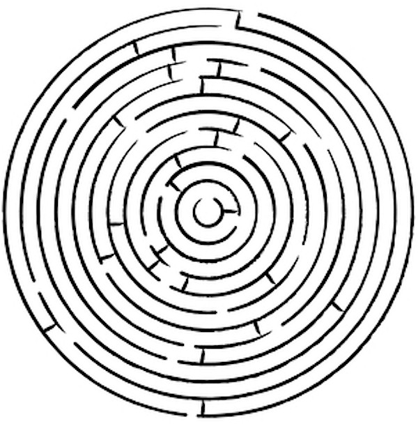 Impossible Circle Maze | www.imgkid.com - The Image Kid ...