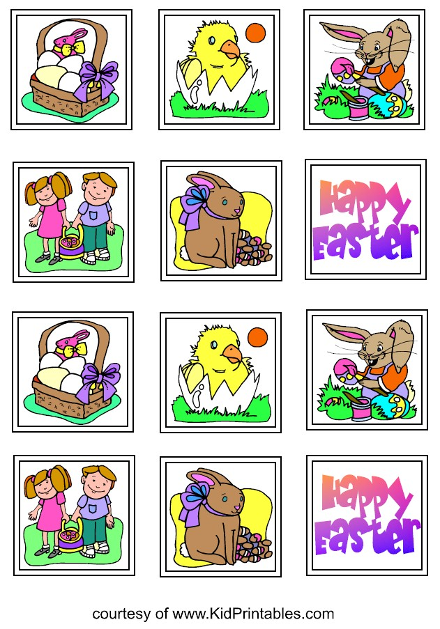Children S Calendar With Stickers : Printables activities kids crafts easter for